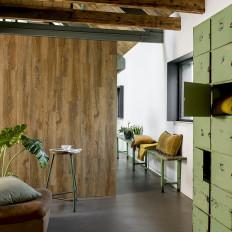 WallArt vintage barna színű újrahasznosított tölgyfa hatású lap - utánvéttel vagy ingyenes szállítással